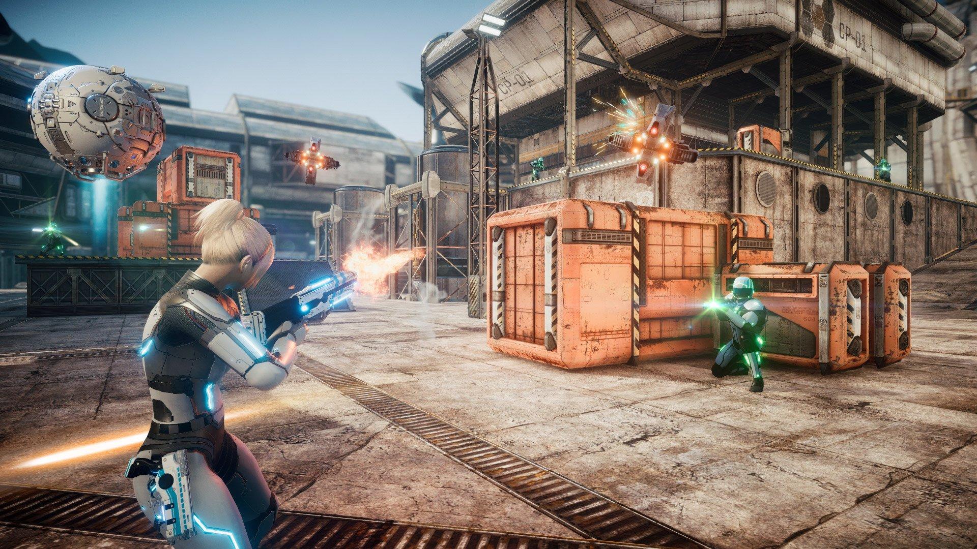 Скриншот к игре Everreach: Project Eden