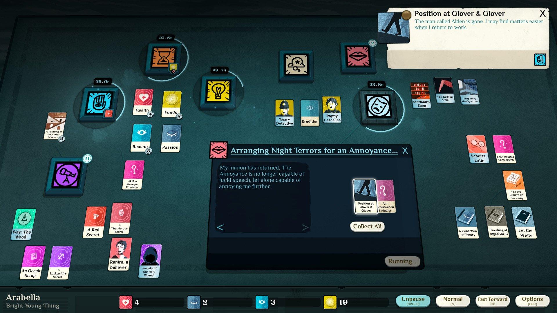 Скриншот к игре Cultist Simulator v.2019.11.a.1 [GOG] (2018) скачать торрент Лицензия