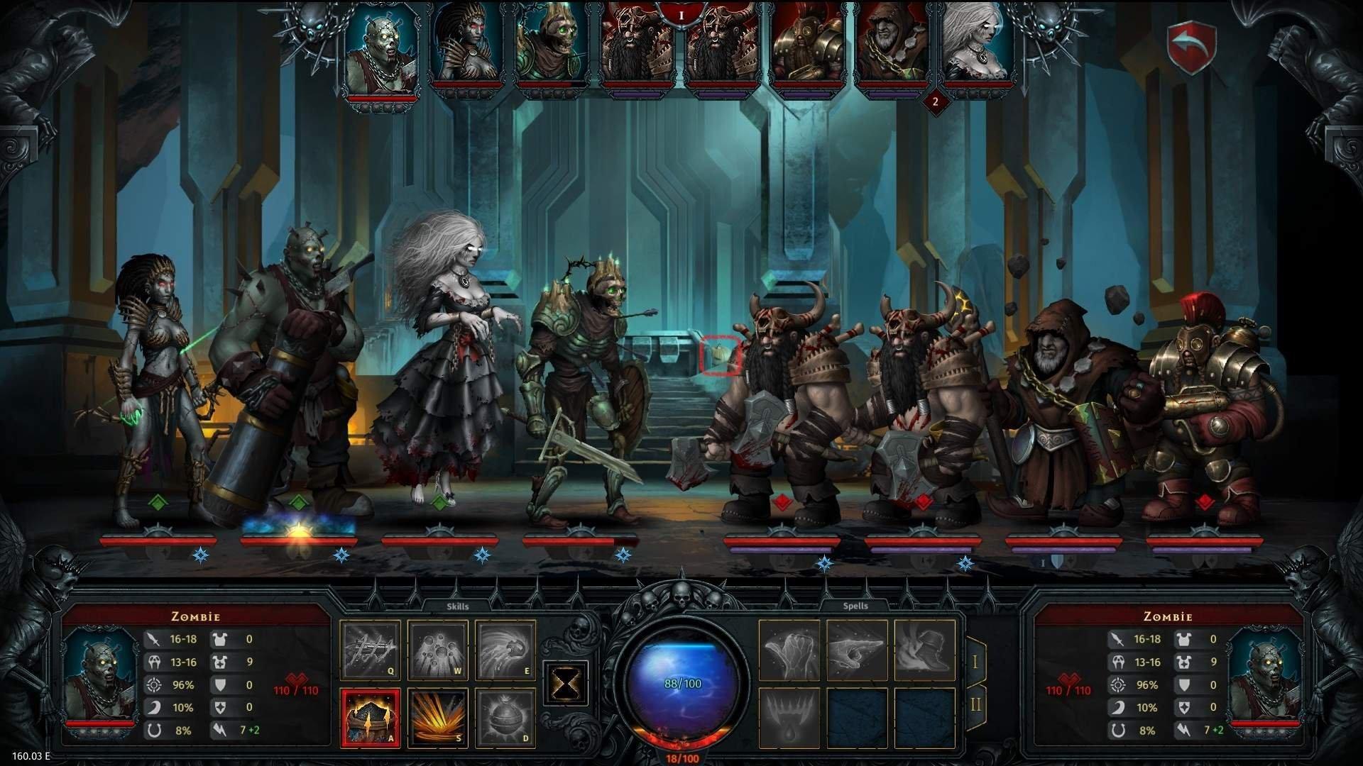 Скриншот к игре Iratus: Lord of the Dead v.160.03.07 [GOG] (Early Access) скачать торрент Лицензия