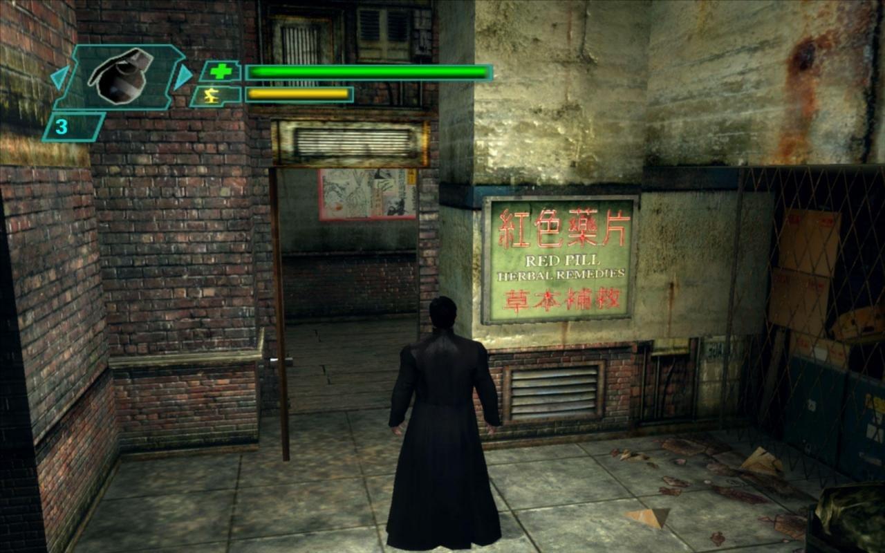 Скриншот к игре The Matrix: Path of Neo v.1.2 [L] (2005) скачать торрент Лицензия