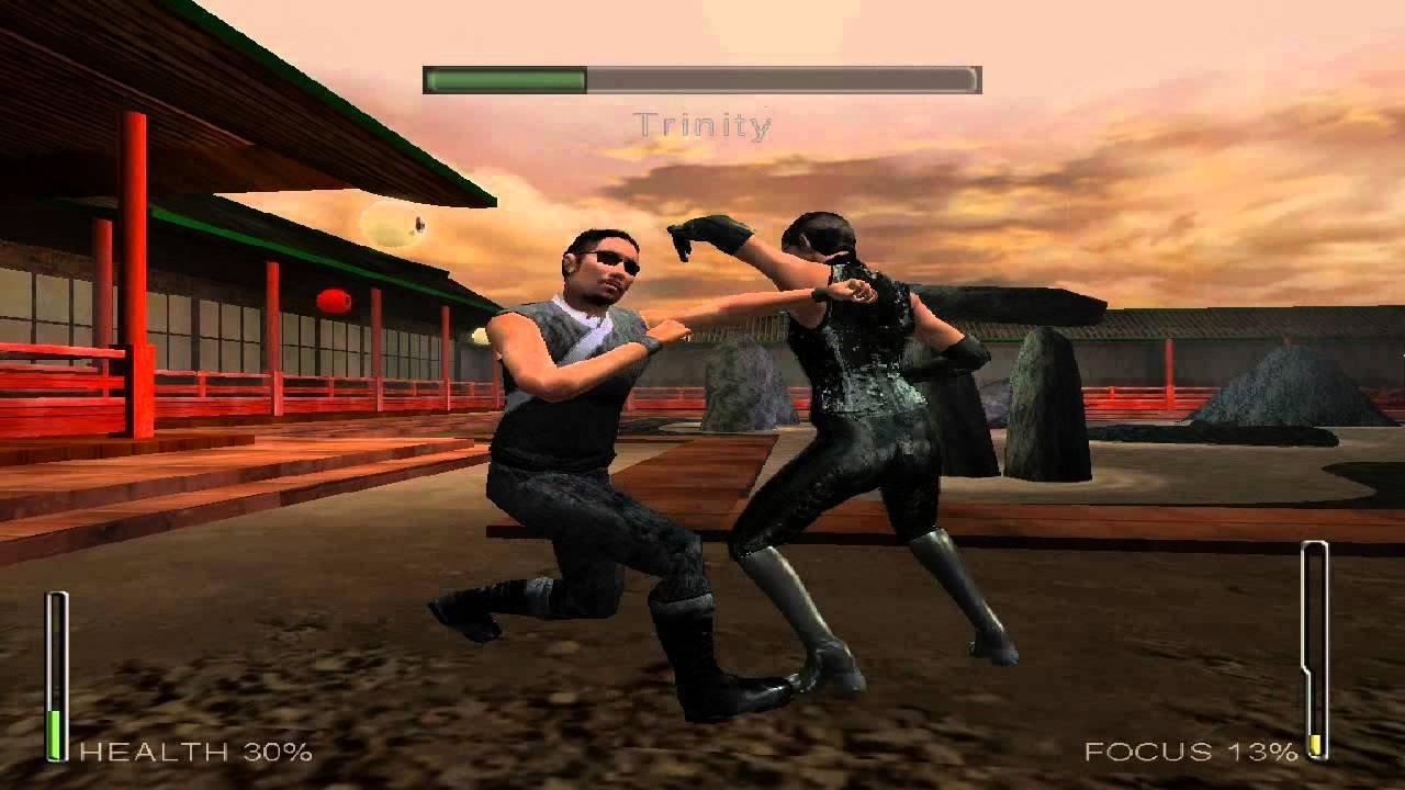Скриншот к игре Enter the Matrix v.1.52 [L] (2003) скачать торрент Лицензия