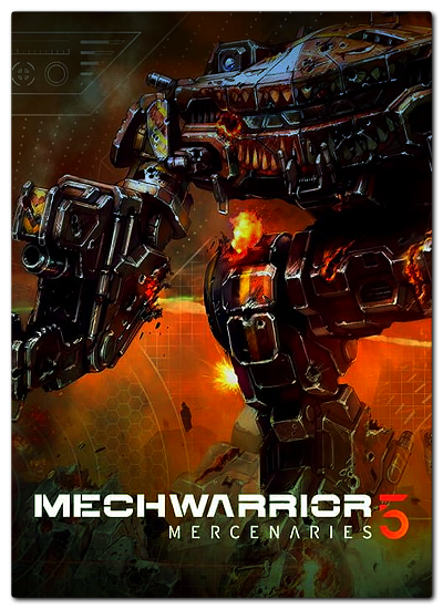 Обложка к игре MechWarrior 5: Mercenaries
