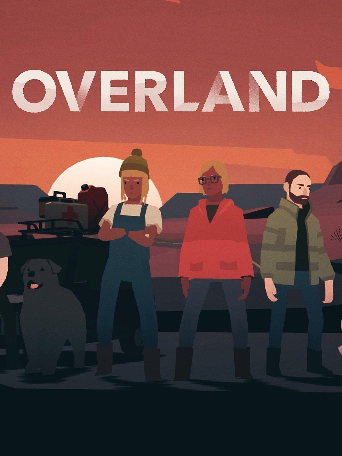 Обложка к игре Overland (build 713) [GOG] (2019)