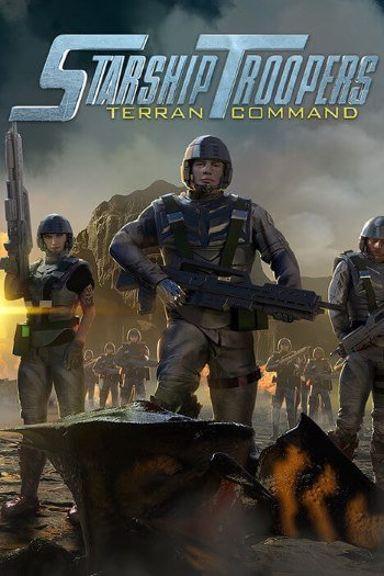 Обложка к игре Starship Troopers: Terran Command