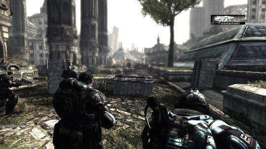 Скриншот к игре Gears of War v.1.0.3340.131 [1С] (2007) скачать торрент Лицензия
