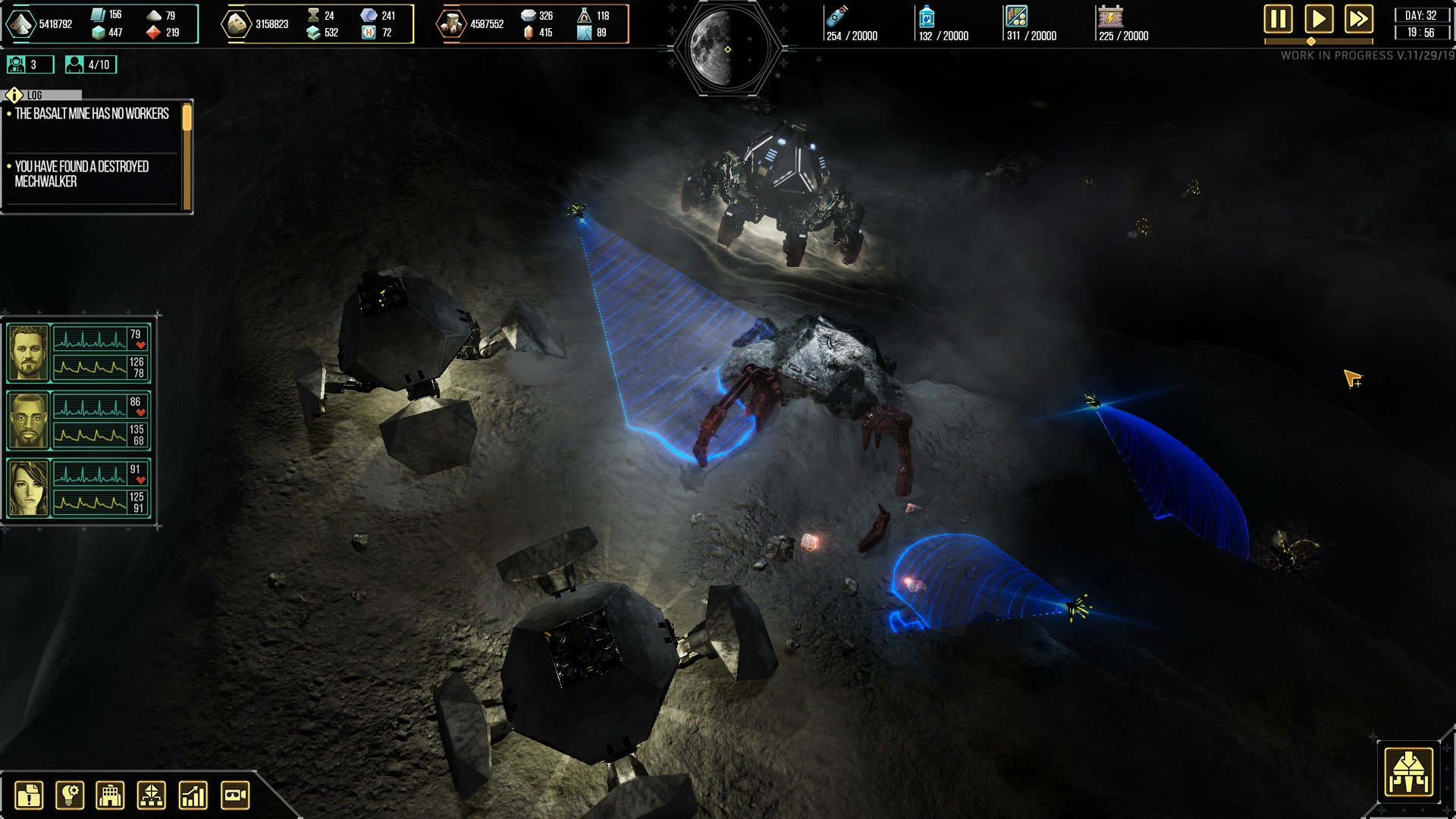 Скриншот к игре Dark Moon
