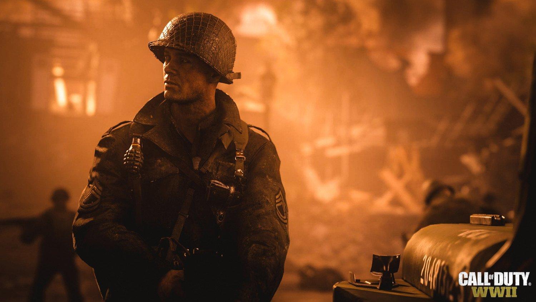 Скриншот к игре Call of Duty: WWII (2017) PC | RePack