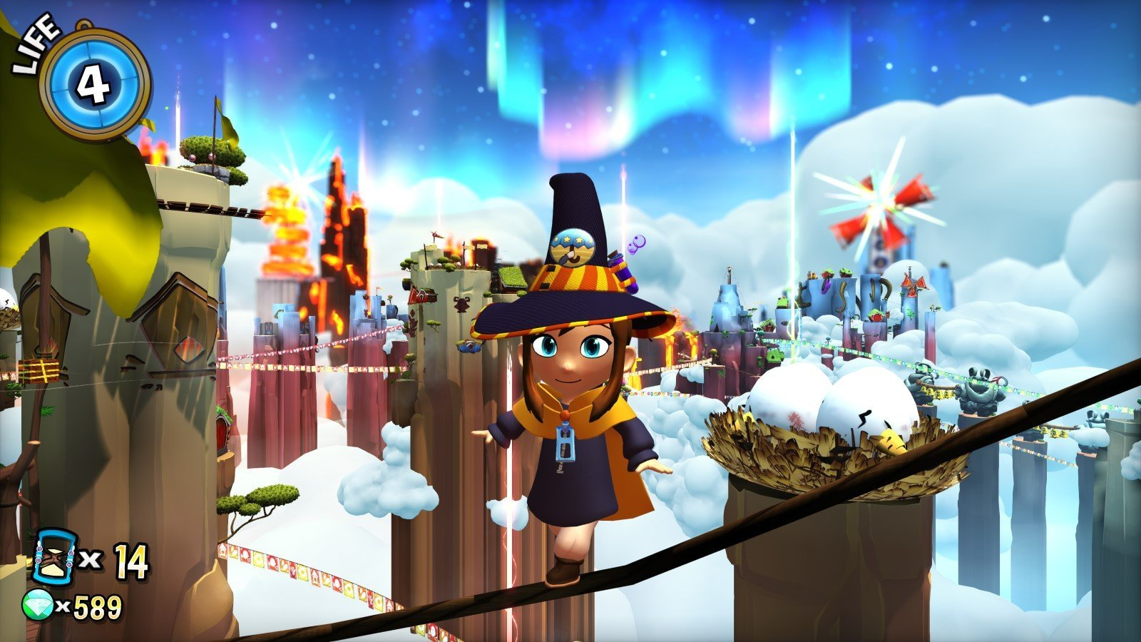 Скриншот к игре A Hat in Time v.1.11 + 2 DLC [GOG] (2017) скачать торрент Лицензия