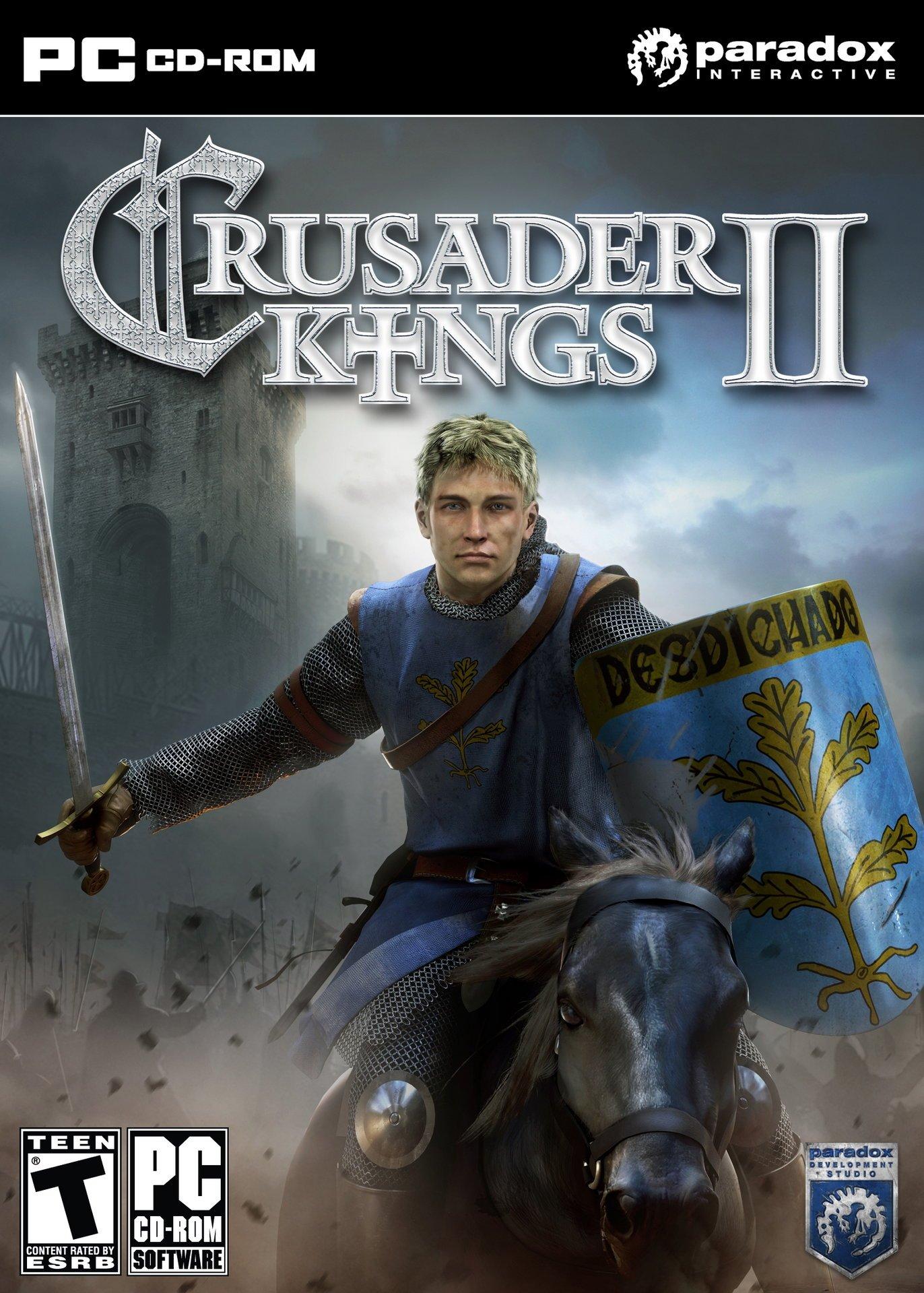 Крестоносцы 2 / Crusader Kings II v.3.3.2 [Portable] (2012)
