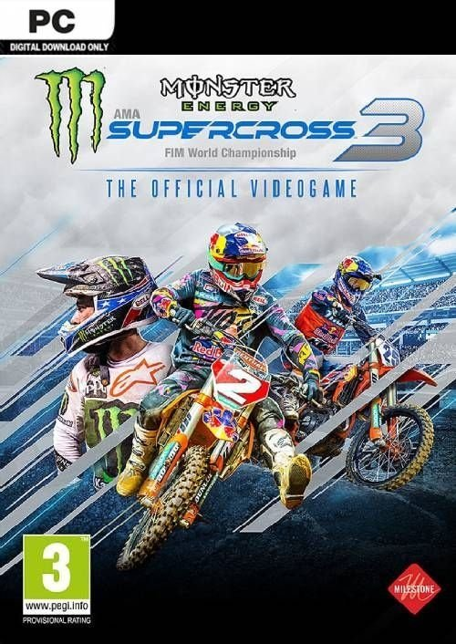 Monster Energy Supercross - The Official Videogame 3 (2020)