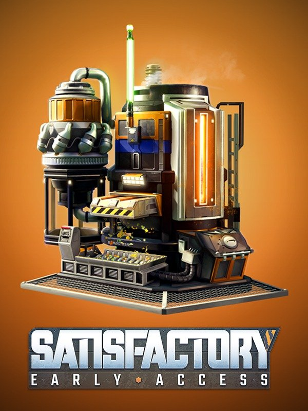 Обложка к игре Satisfactory [ 0.3.0.1 (build 114399 experimental) /Early Access] (2019)