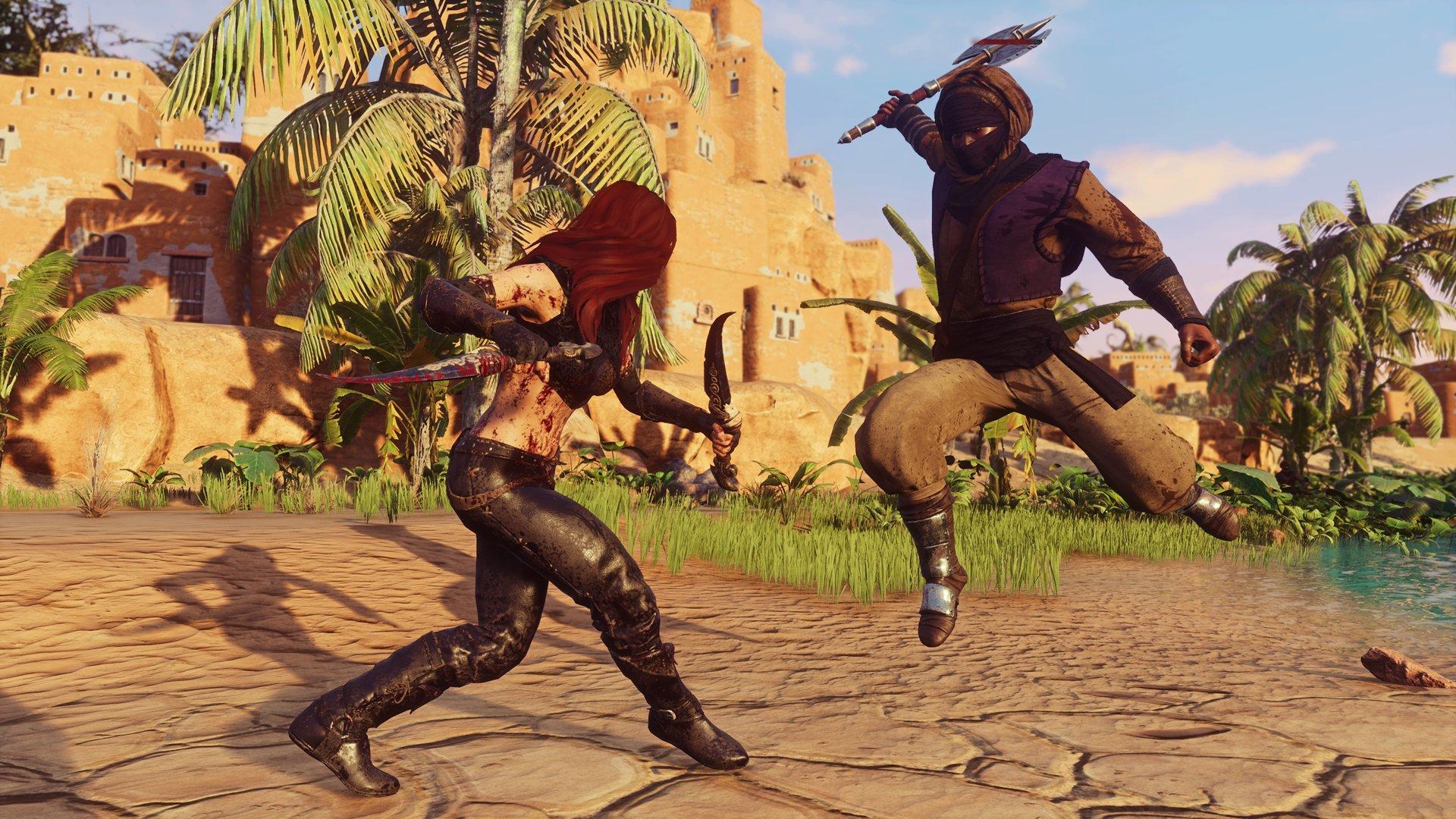 Скриншот к игре Conan Exiles (v181723/22745 + All DLC + 63 Mods) (2018) скачать торрент RePack