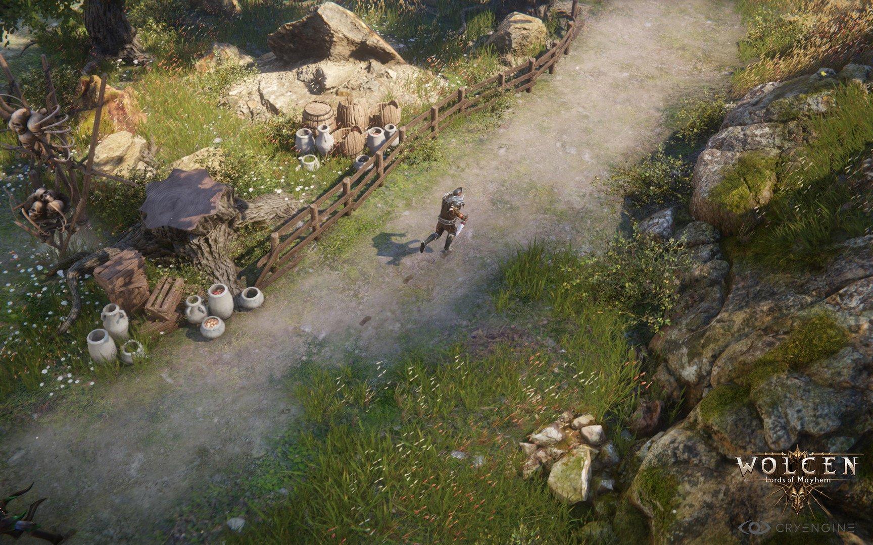 Скриншот к игре Wolcen: Lords of Mayhem (2020) скачать торрент RePack