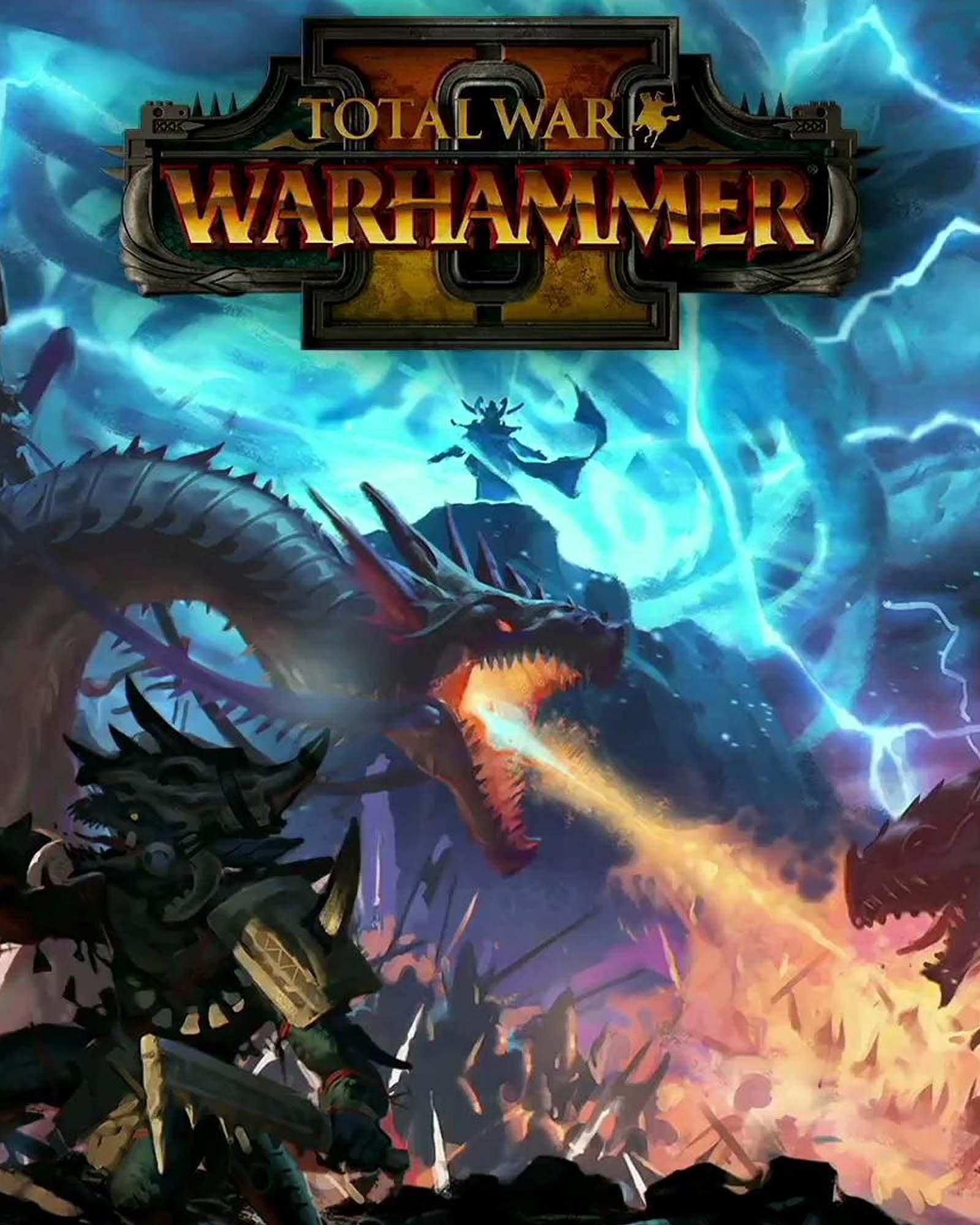 Обложка к игре Total War: WARHAMMER II (v.1.8.2+DLC) (2017)
