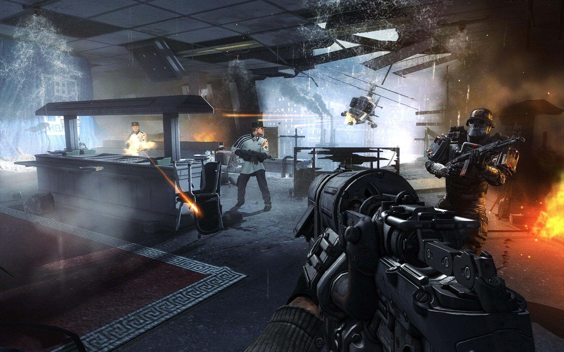 Скриншот к игре Wolfenstein: The New Order [1.0.0.2 (35939)] (2014) PC | RePack от R.G. Механики