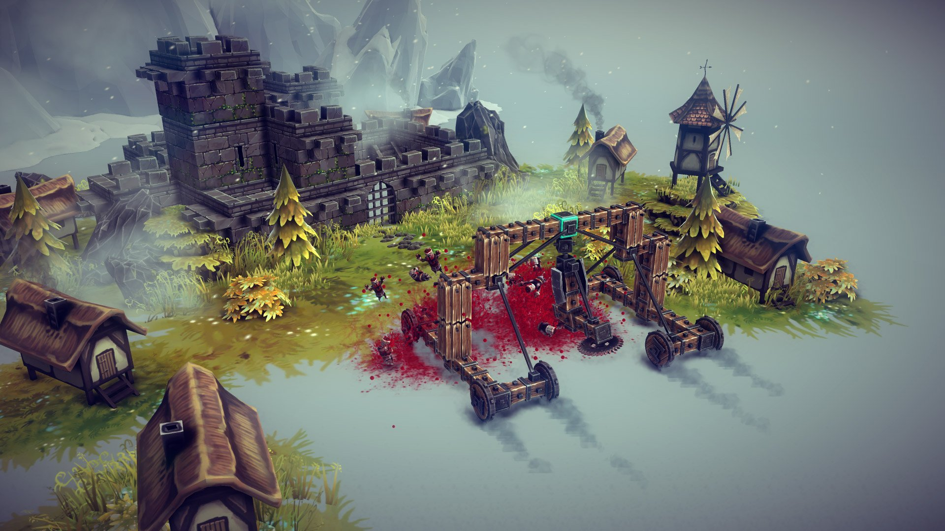 Скриншот к игре Besiege v.1.02 [GOG] (2020) скачать торрент Лицензия