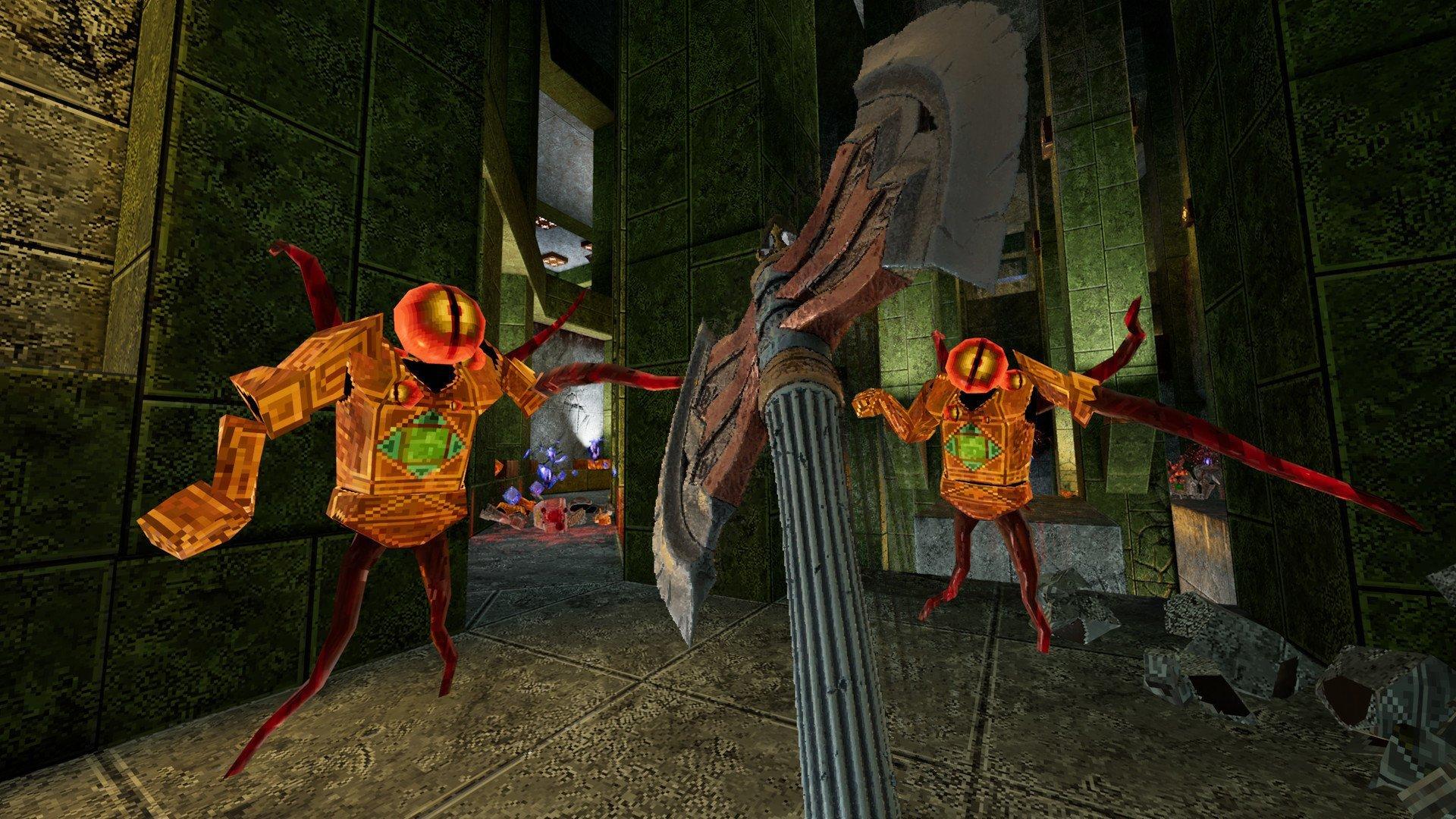 Скриншот к игре AMID EVIL (build 2055а) [GOG] (2019) скачать торрент Лицензия