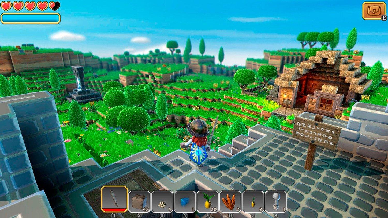 Скриншот к игре Portal Knights [1.7.2 +DLC] (2017) скачать торрент RePack