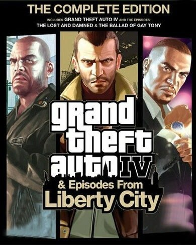 Grand Theft Auto IV: The Complete Edition [v 1.2.0.32] (2010-2020) (2010-2020)