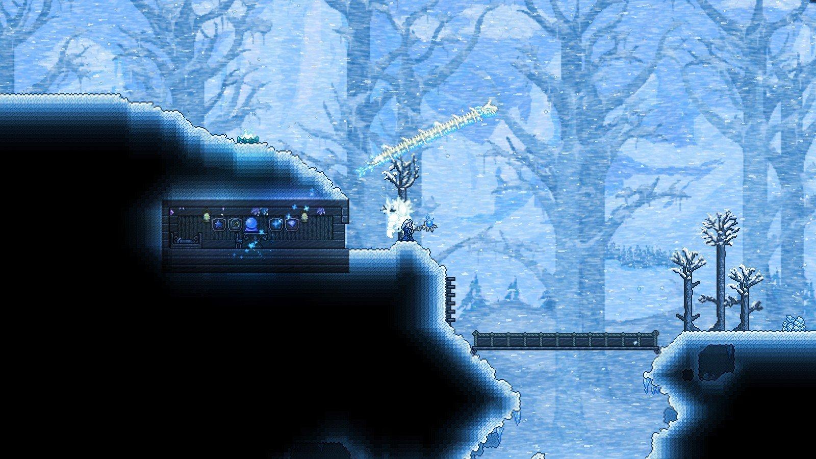 Скриншот к игре Terraria v.1.4 [GOG] (2011) скачать торрент Лицензия