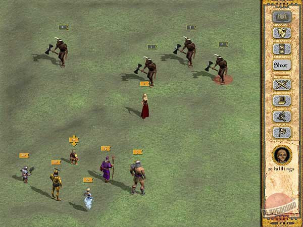 Скриншот к игре Heroes of Might and Magic 4 Complete (2004) скачать торрент RePack