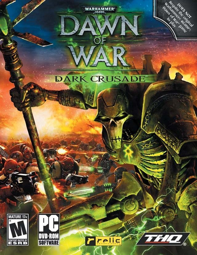 Обложка к игре Warhammer 40000: Dawn of War – Dark Crusade (2006)