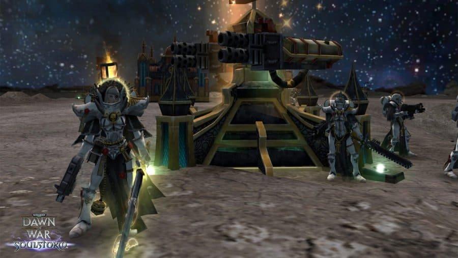 Скриншот к игре Warhammer 40000: Dawn of War – Soulstorm (2008) скачать торрент RePac